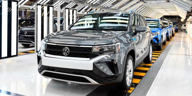 Производство Volkswagen Taos начали на заводе в Мексике