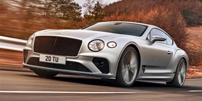 Новый Bentley Continental GT Speed показан во всей красе