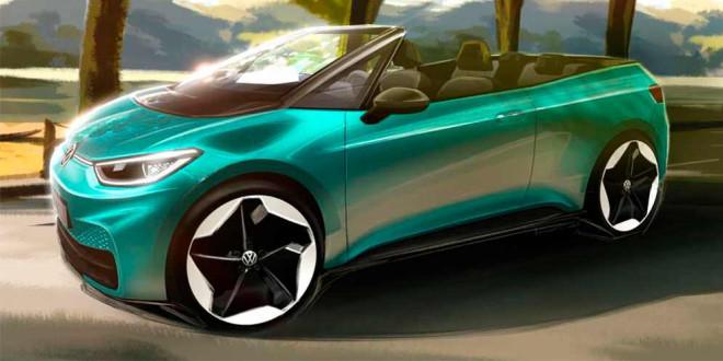 Volkswagen может выпустить кабриолет ID.3 Convertible