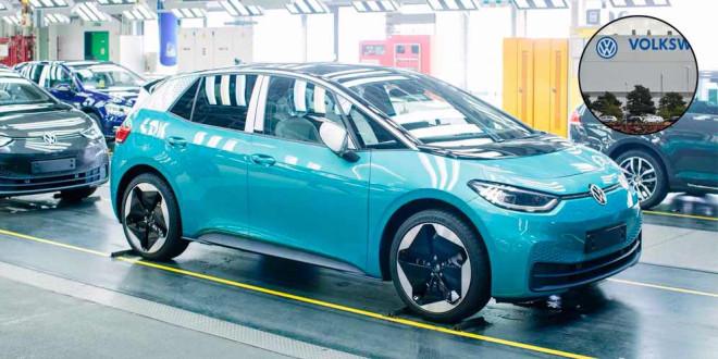 Производство VW ID.3 / 4 в Цвиккау превысило 800 в день