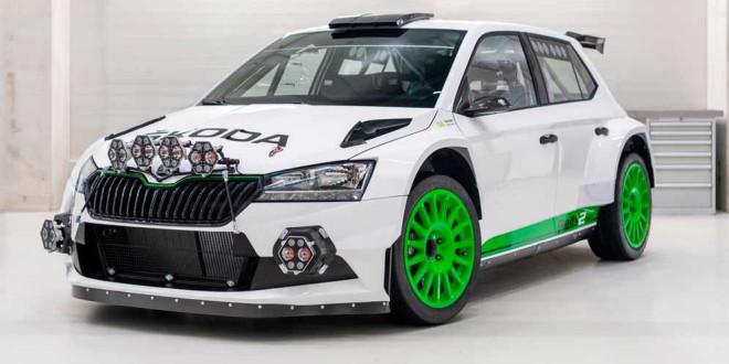 Skoda Fabia Rally2 Evo Edition 120 выходит ограниченной серией