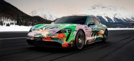 Арт-кар из Porsche Taycan продан за $200 000