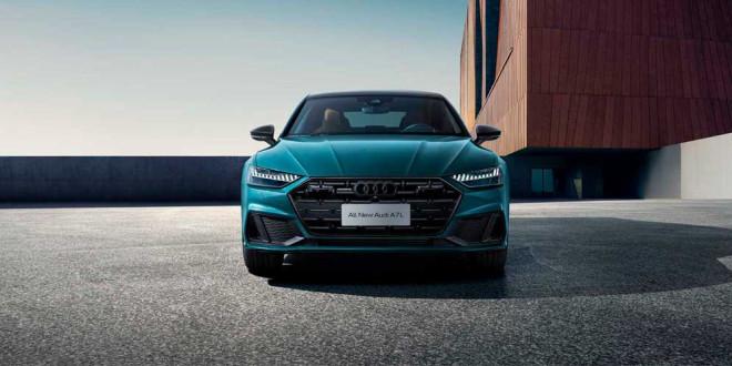 Audi A7 L растянули из хэтчбека в седан. Эксклюзив для Китая