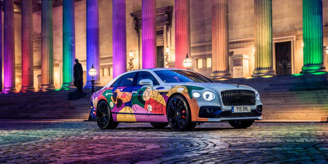 Bentley Unifying Spur раскрасили в цвета радужного флага