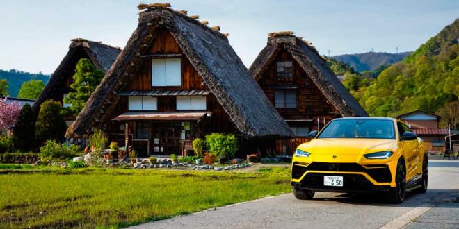 Lamborghini Urus завершил путешествие по Японии на 6 500 км