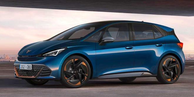 Новый электромобиль Cupra Born показан официально