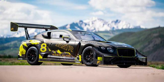 Болид Bentley для нового рекорда на горе Пайкс-Пик готов