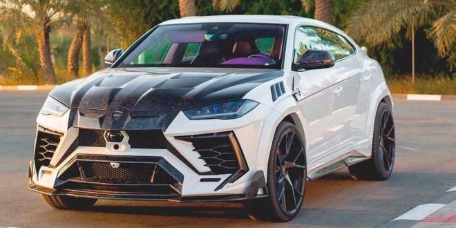 Lamborghini Urus приоделся в красочный тюнинг от Mansory