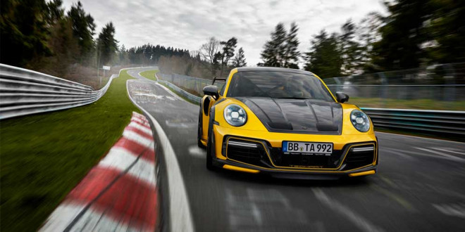 Представлен новый TechArt GTstreet R на базе Porsche 992 Turbo