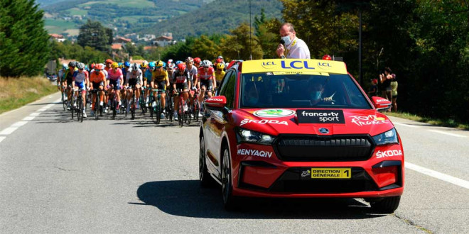 Skoda остаётся спонсором Тур де Франс в 2021 году