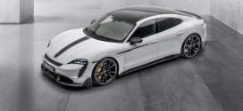 Porsche Taycan получил фирменный тюнинг от Mansory