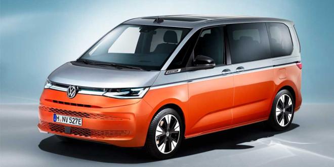 Вышел новый Volkswagen Multivan T7 официально. Теперь и гибрид