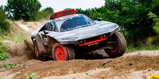 Представлен болид для Ралли «Дакар» Audi RS Q e-tron