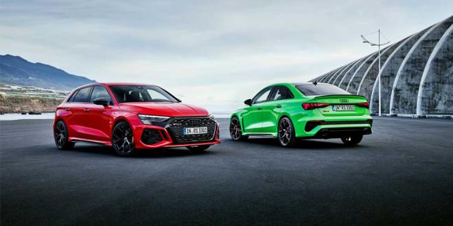 Спортивная Audi RS 3 хэтчбек и седан вышла в новом поколении