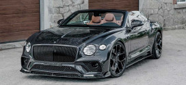 Mansory доработал кабриолет Bentley Continental GT Convertible