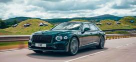 Bentley Flying Spur стал гибридом, официально