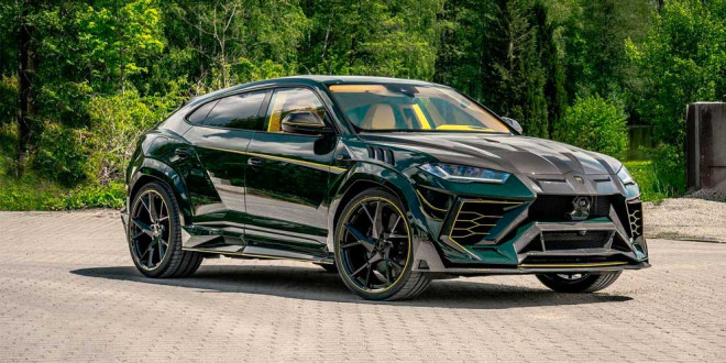 Mansory красочно тюнинговал ещё один Lamborghini Urus