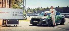 Новая Audi RS3 Sedan 2022 года установила рекорд Нюрбургринга