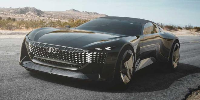 Audi показала стильный концепт Skysphere с расширяемой базой
