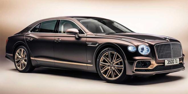Вышел Bentley Flying Spur Hybrid Odyssean с эко-отделкой салона