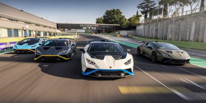 Lamborghini Huracan STO испытали гонкой на трассе Валлелунга