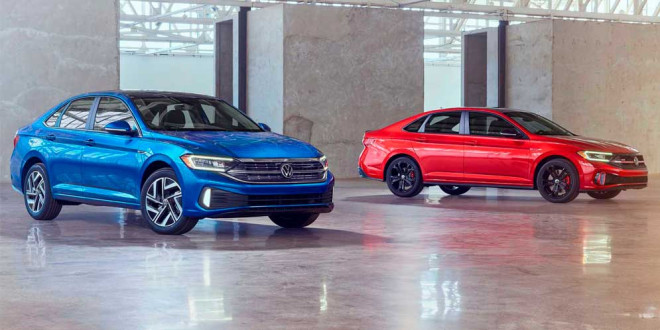 Volkswagen Jetta и спортивная Jetta GLI обновились на 2022 год
