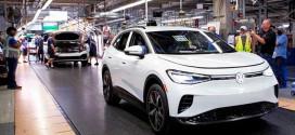 Завод Volkswagen в США выпустил первую партию кроссоверов ID.4