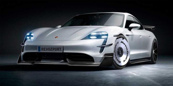 RevoZport сделал два аэро-обвеса для Porsche Taycan