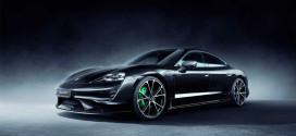 TechArt сделал Porsche Taycan новый аэро-обвес из карбона