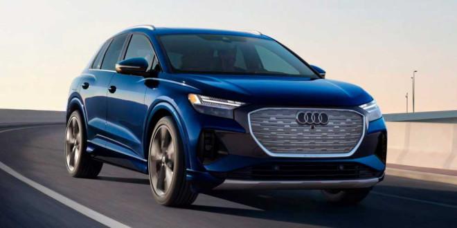 Электрокар Audi Q4 e-tron поступил в продажу в США. Цены