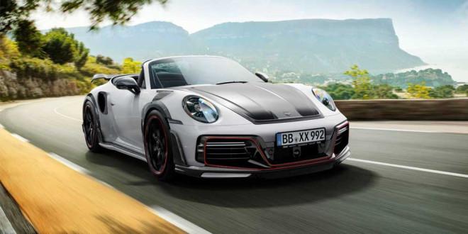 Techart выпустил экстремальный кабриолет Porsche GTstreet R