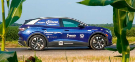 Volkswagen ID.4 проехал 35 893 км от побережья к побережью в США