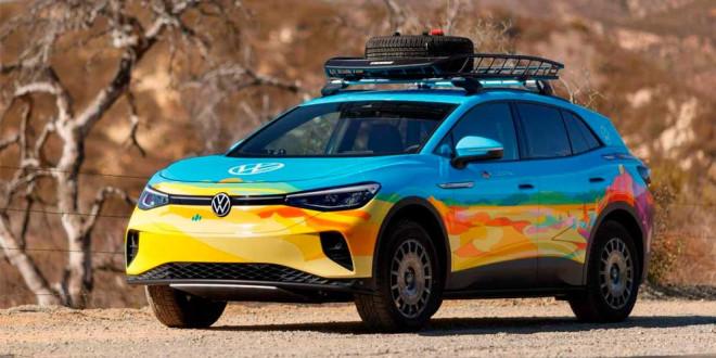 Volkswagen ID.4 примет участие в гонке Rebelle Rally 2021 года