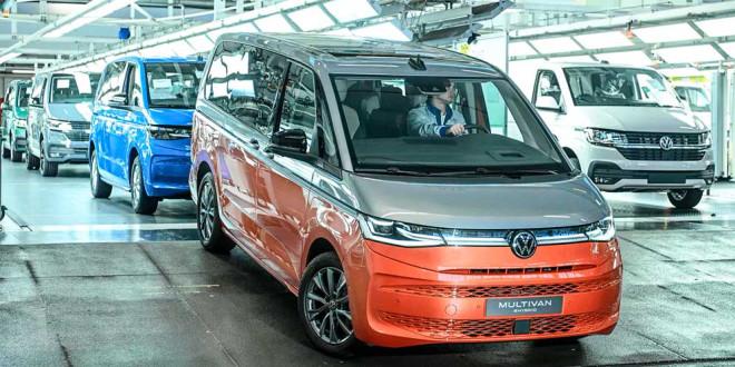 Производство Volkswagen Multivan T7 началось в Ганновере
