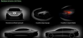 Следующая Skoda Superb 2023 раскрывает ранние эскизы дизайна