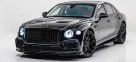 Mansory сделал Bentley Flying Spur тюнинг в стиле тотал блэк