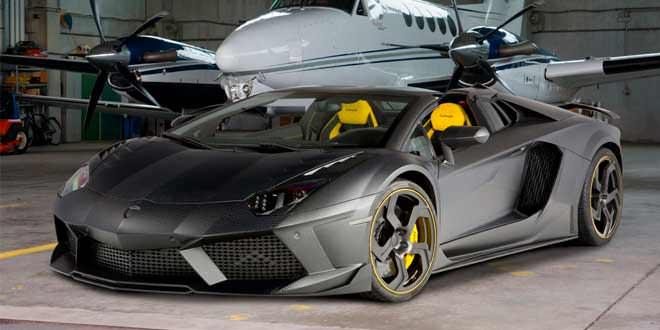 Суперкар Lamborghini Aventador Carbonado. Эксклюзив Mansory