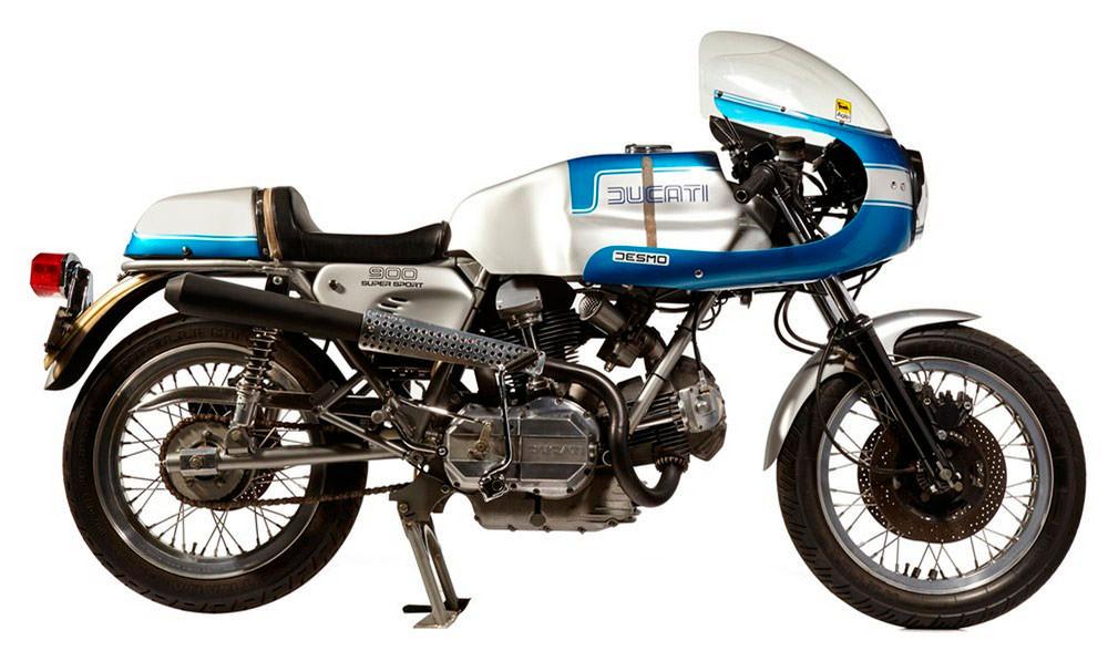 Мотоцикл Ducati 750SS TT1 1984 года выпуска