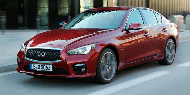 Седан Infiniti Q50 получил от Daimler AG бензиновую «турбочетвёрку»