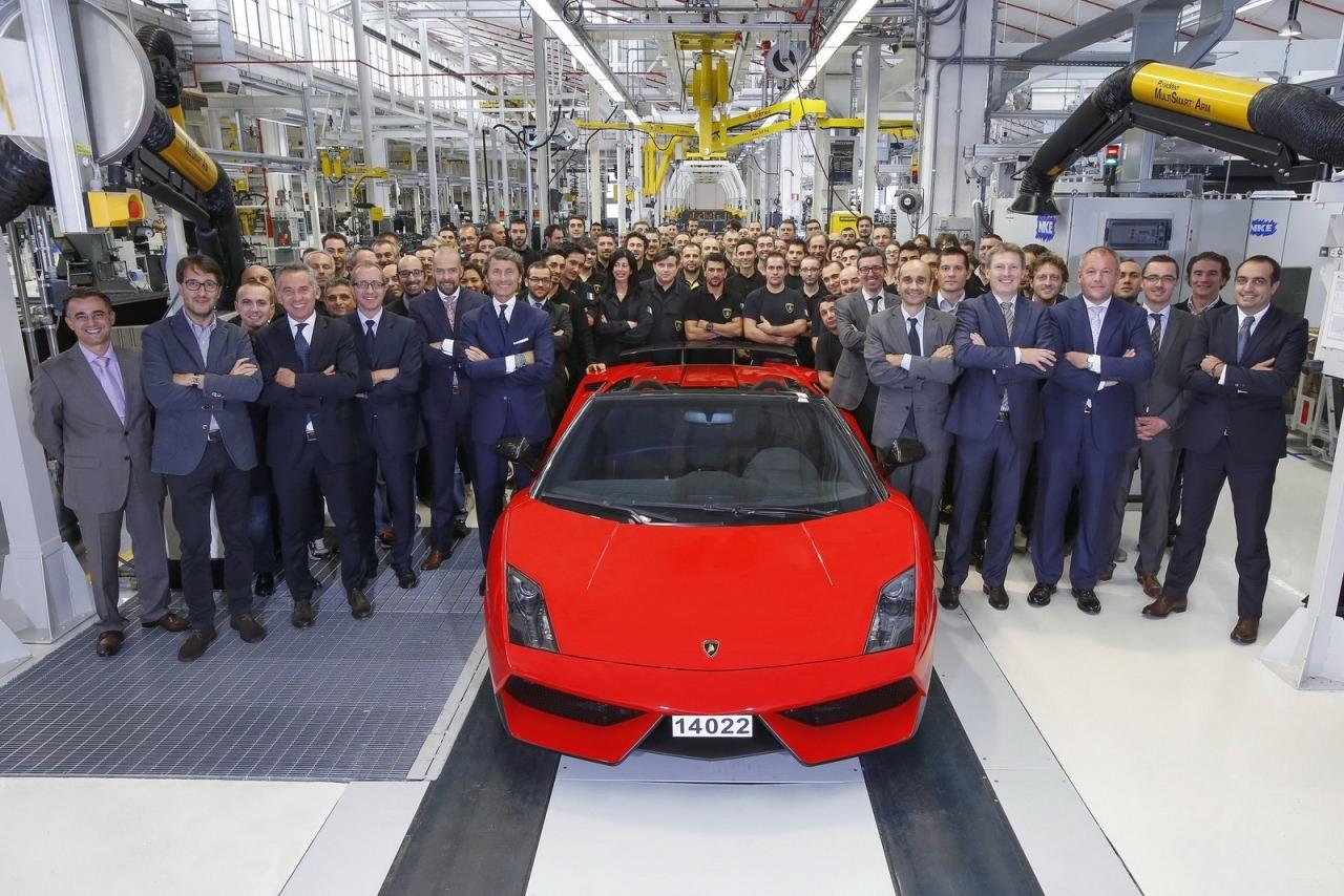 Lamborghini Gallardo LP 570-4 Spyder Performance