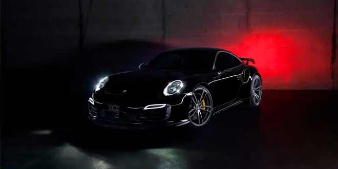 Эффектный тюнинг Porsche 911 Turbo от TechArt | фото