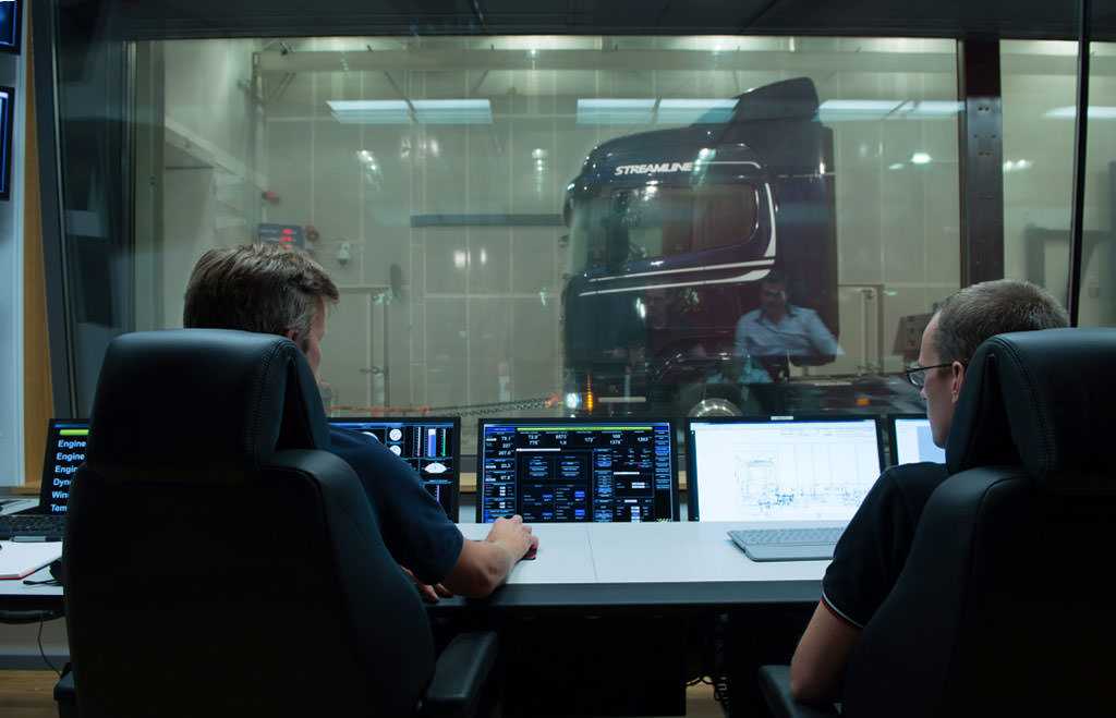 Scania Climatic wind tunnel