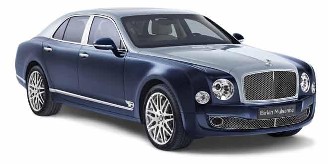 Bentley Mulsanne в честь победителя «Ле-Мана» Генри Биркина