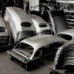 Фото   Элементы кузова VW Beetle на заводе