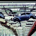 Фото   Производство Volkswagen Beetle