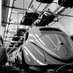 Фото   Непрерывное производство Volkswagen Beetle