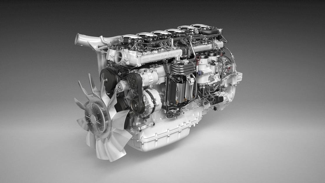 13-литровый двигатель Scania DC13 на 410 л.с.