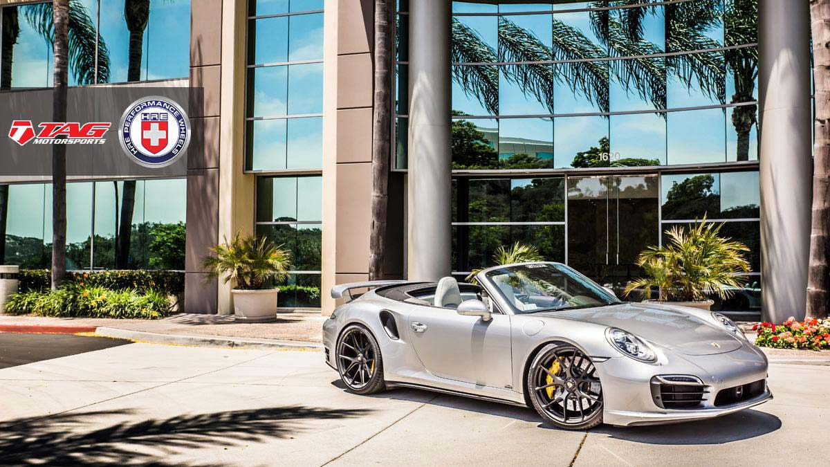 Мощный кабриолет Porsche 911 Turbo S от TAG Motorsports