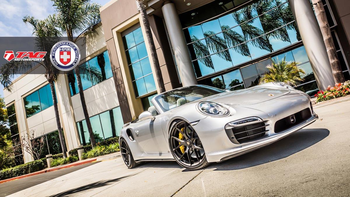 Тюнинг Porsche 911 Turbo S Cabriolet от TAG Motorsports