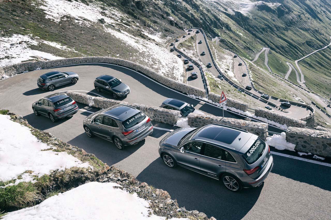 Audi SQ5: шестимилионный автомобиль с полным приводом quattro
